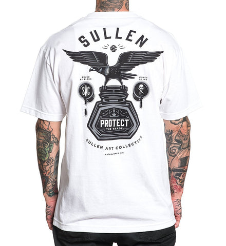 Sullen Men's Bound By Blood T-shirt - White