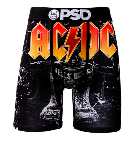 PSD Underwear Men's ACDC Hell's Bells Boxer Brief