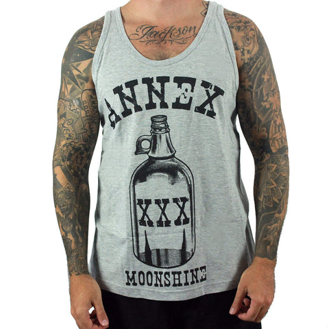 Annex Men's Moonshine Tank Top Singlet - Musink