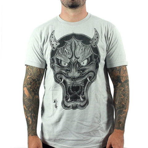 Black Market Art Men's OG Hanya T -shirt | Quality Men's Tee with an Awesome Hanya Mask Design