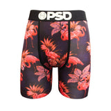 PSD Underwear Men's Blue Flamingo Boxer Brief