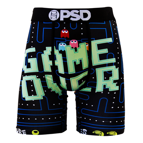 PSD Underwear Men's Game Over Boxer Brief