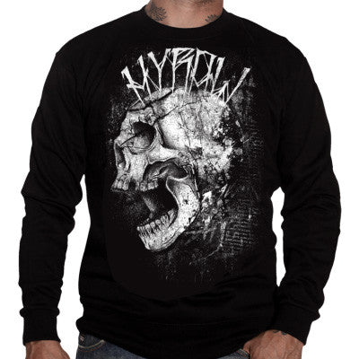 Hyraw Men's Punk Shit Sweater - Musink