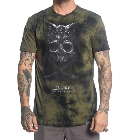 Sullen Men's Matt Jordan Premium Fit T-shirt Green