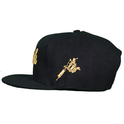 Musink Machine Gold Snapback Cap