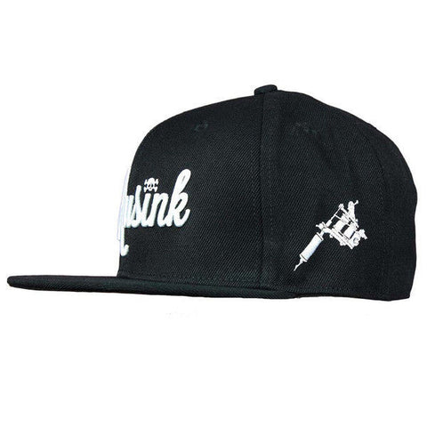 Musink Machine Black/White Snapback Cap