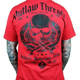 Outlaw Threadz Men's Original Outlaw Red T -shirt