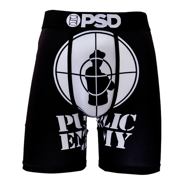 PSD Underwear Men's Public Enemy Boxer Brief