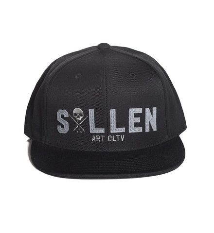 Sullen Punched Snapback Cap - Musink