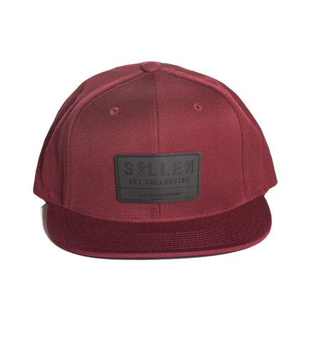 Sullen Builder Brick Red Snapback Cap