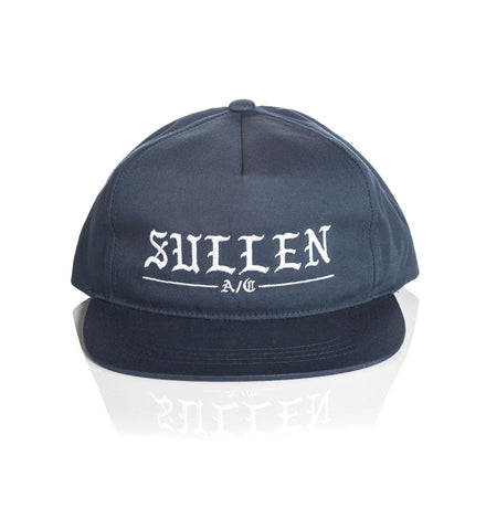 Sullen Rough Blue Snapback Cap