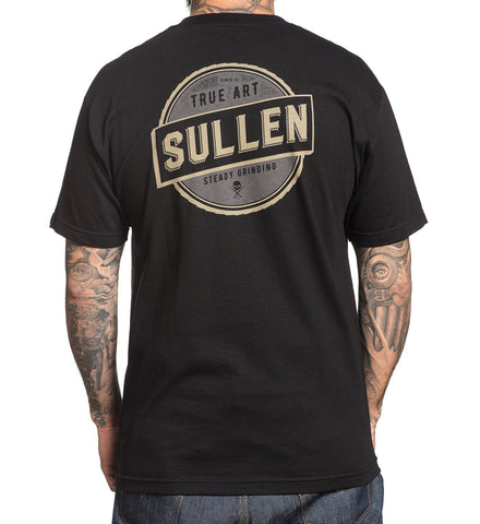 Sullen Men's Steady Black T-shirt