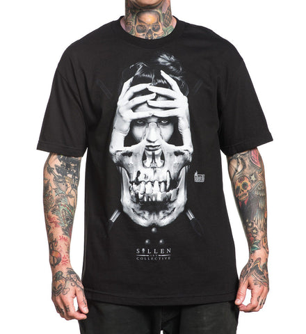 Sullen Men's Bullet badge T-shirt