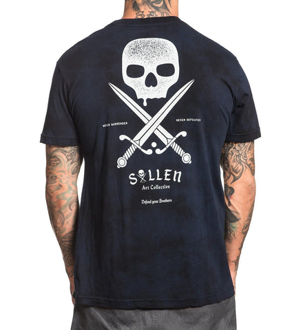 Sullen Men's Swords Badge T-shirt - Musink