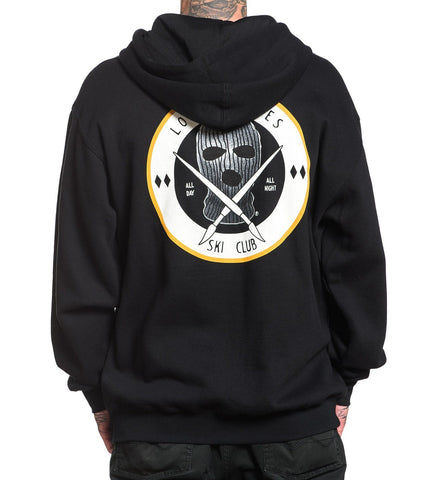 Sullen Ski Club Zip Up Hoodie