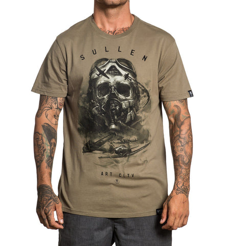 Sullen Men's Air Fight T-shirt - Musink