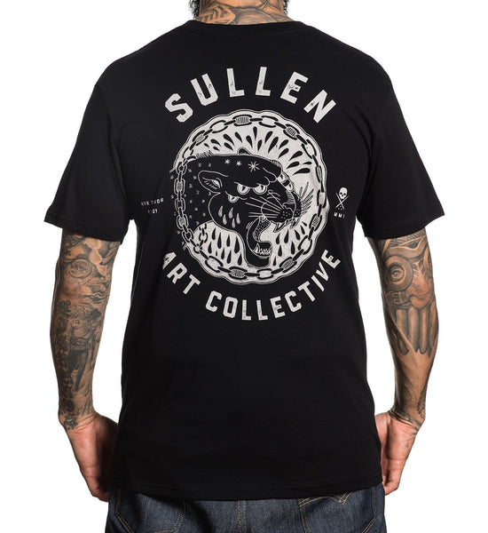 Sullen Men's Panthers Tears T-shirt - Musink