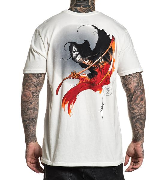 b87e29097 Sullen Men's Shane Ford Reaper T-shirt, Tattoo Clothing | Sullen Tees