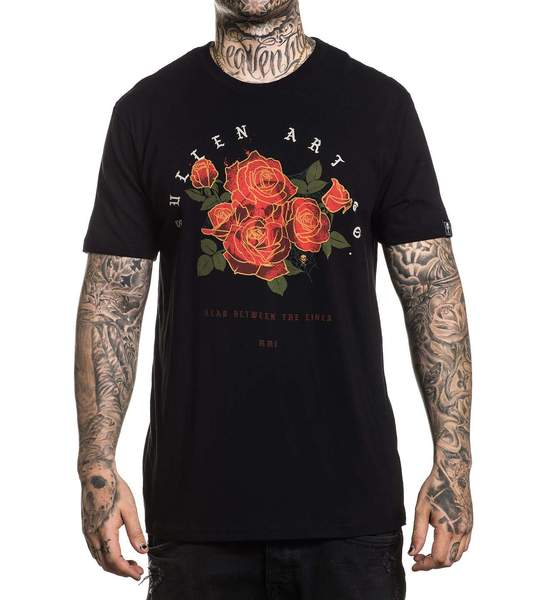 Sullen Men's Crimson T-shirt - Musink
