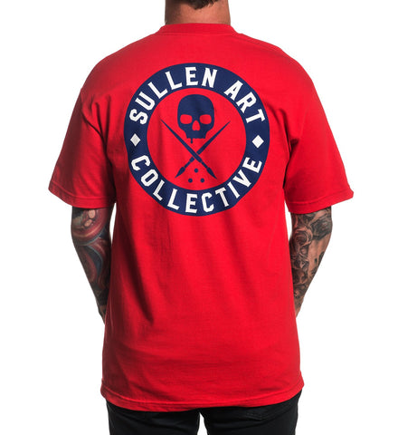 Sullen Men's Patriot Badge T-shirt - Musink