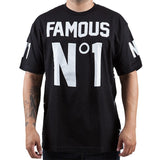 Famous Men's Numero Uno Black T -shirt
