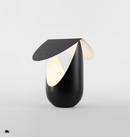 Table Lamp (Ebonized white oak/Black)