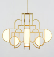 Chandelier - 02 (Brushed brass)