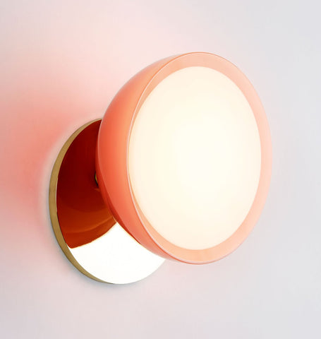 Sconce (Polished brass/Pink)