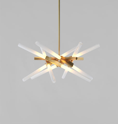 01 - 12 Lights (Brushed brass)