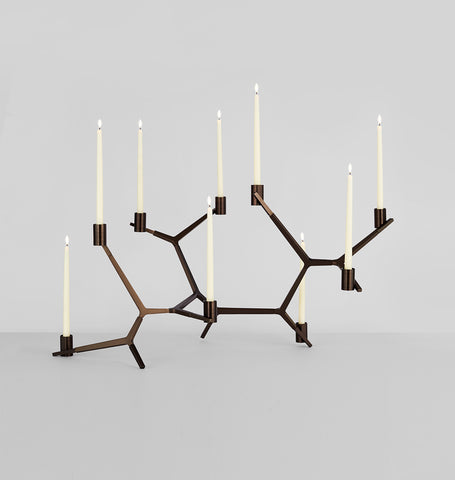 Table - 9 Candles (Bronze)