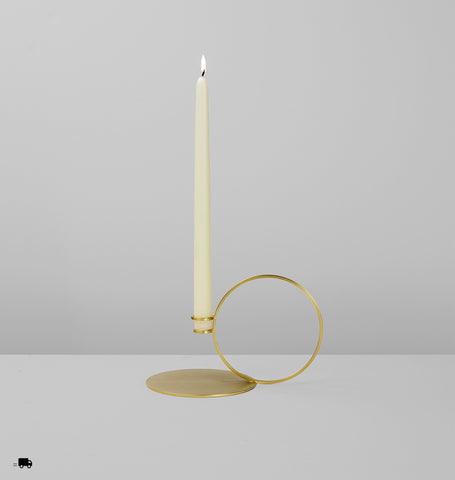 Bugia (Brushed brass)