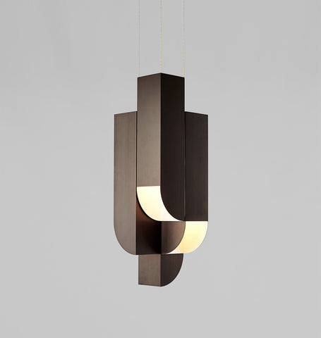 Pendant - 4 Lights (Bronze)