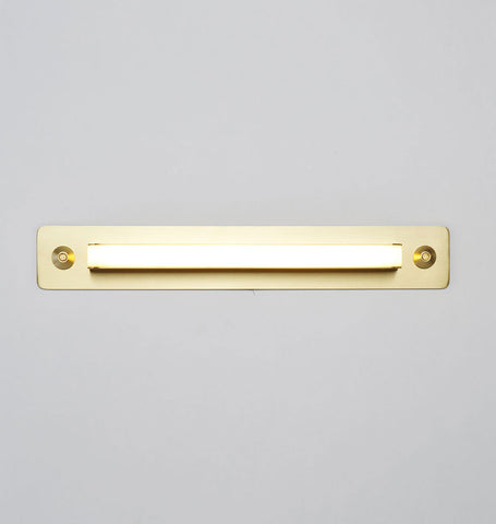 Sconce - 18 inches (Brushed brass)