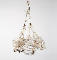 Chandelier - 1 Large, 6 Small Bubbles (Natural/Clear)