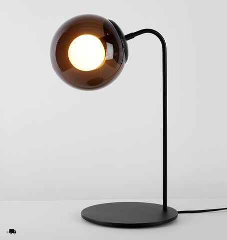 Desk Lamp (Black/Smoke)