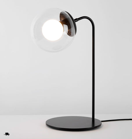 Desk Lamp (Bronze/Clear)