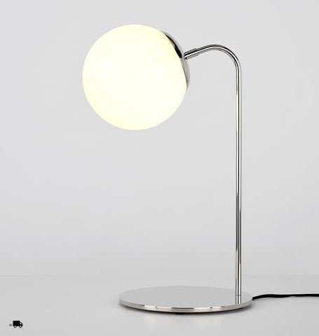 Desk Lamp (Polished nickel/Cream)