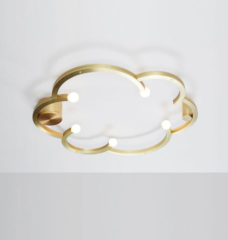 Ceiling Mount (Brushed brass)