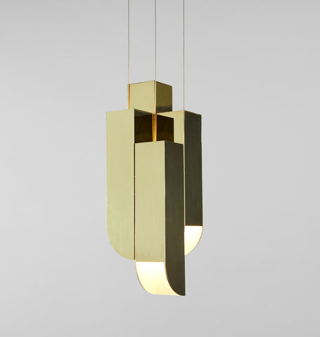 Pendant - 4 Lights (Polished brass)