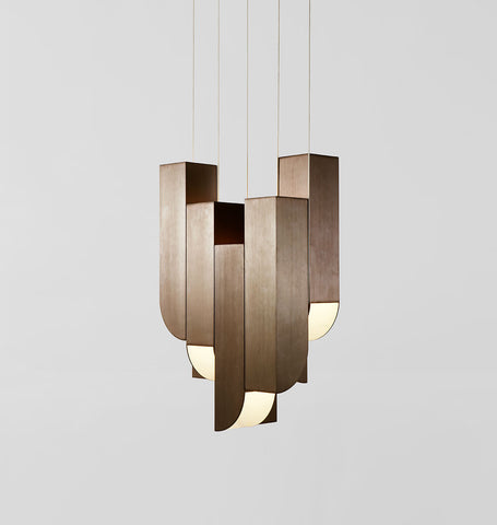 Pendant - 8 Lights (Bronze)