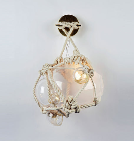 Sconce - Small (Natural/Opal)