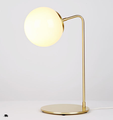 Desk Lamp (Brushed brass/Cream)