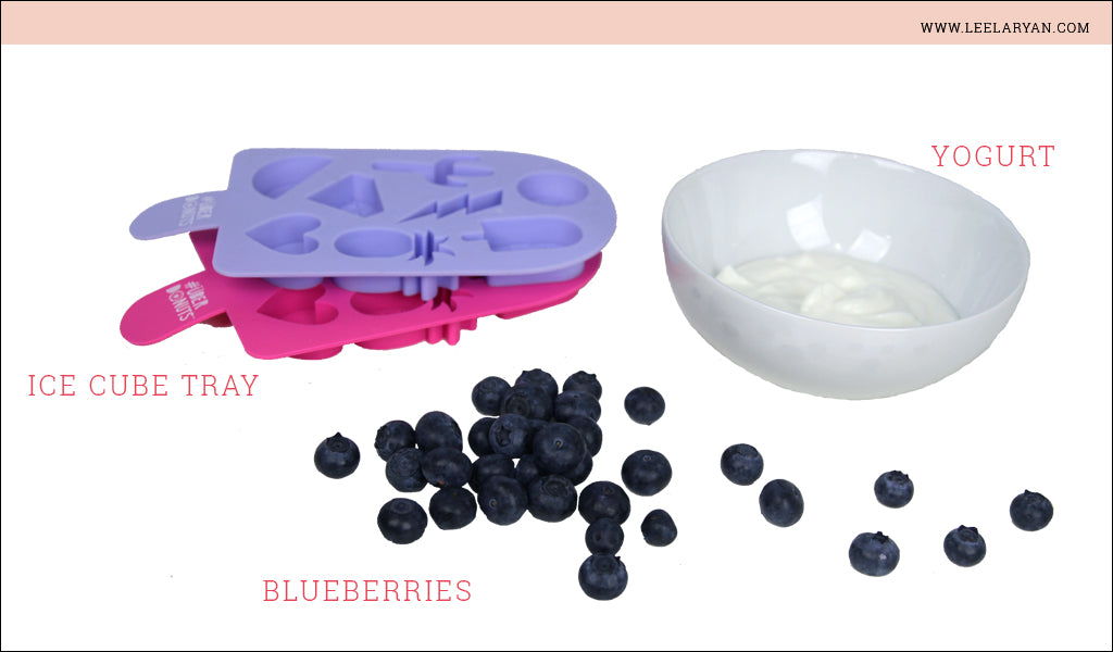 frozen blueberry yogurt dog treat ingredients