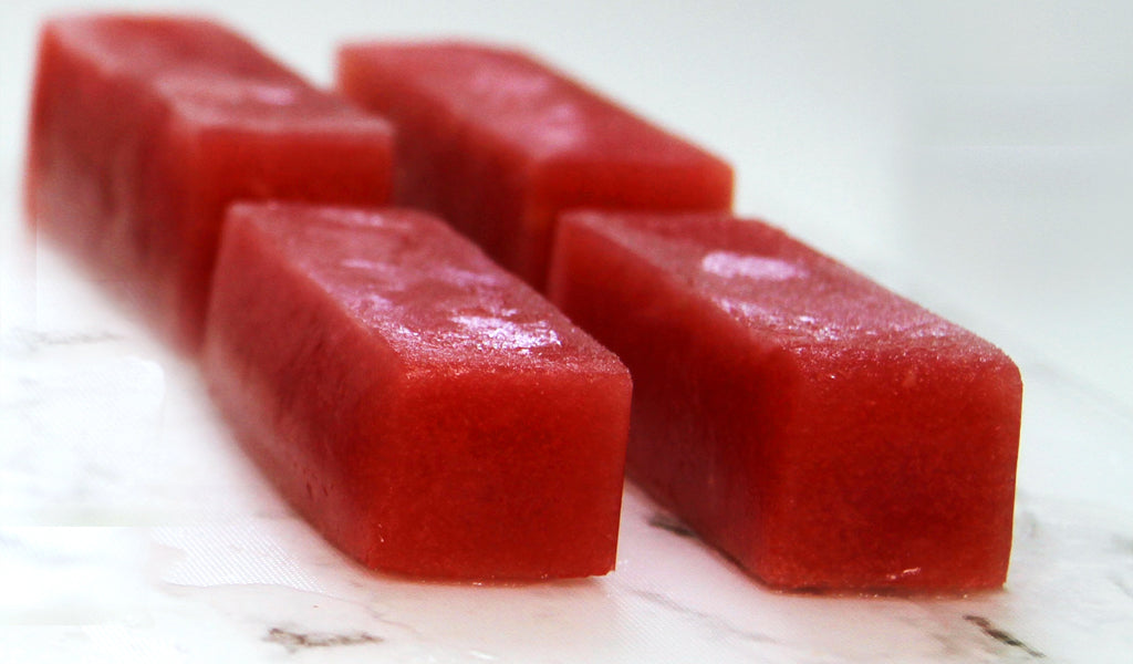 frozen watermelon dog treat - leela ryan