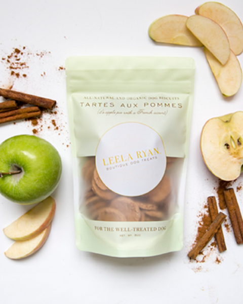 Vegan Apple Dog Treats