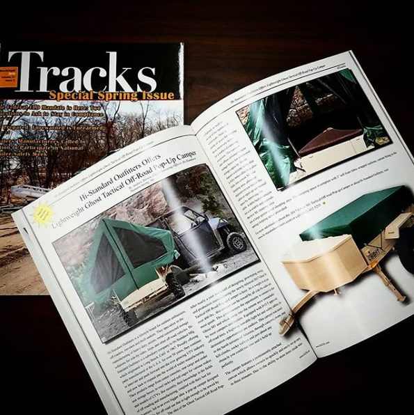 Ghost M1 Featured in Tracks Magazine