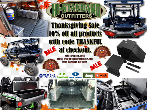 Thanksgiving Sale 2018!!