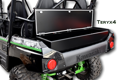 Kawasaki Teryx4 Custom Metal Storage Box Rear Cago