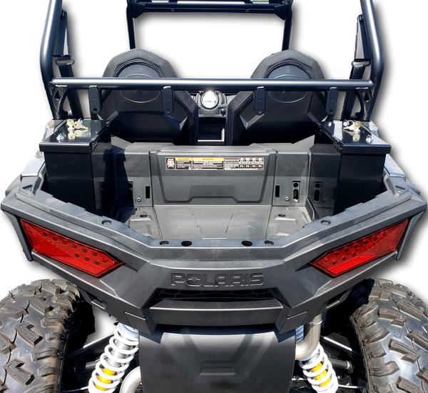 Polaris RZR 900/ 1000S Rear Side Cargo Storage Boxes, Lockable, weatherproof, secure.