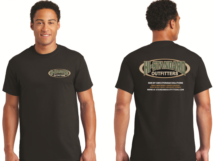 Hi-Standard Outfitters Mens T-Shirt outdoor rugged UTV ATV Off-Road